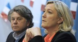 Marine Le Pen et Gilbert Collard.
