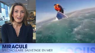 Le sauvetage spectaculaire d'un migrant sur un bateau en train de sombrer : regardez Focus #37