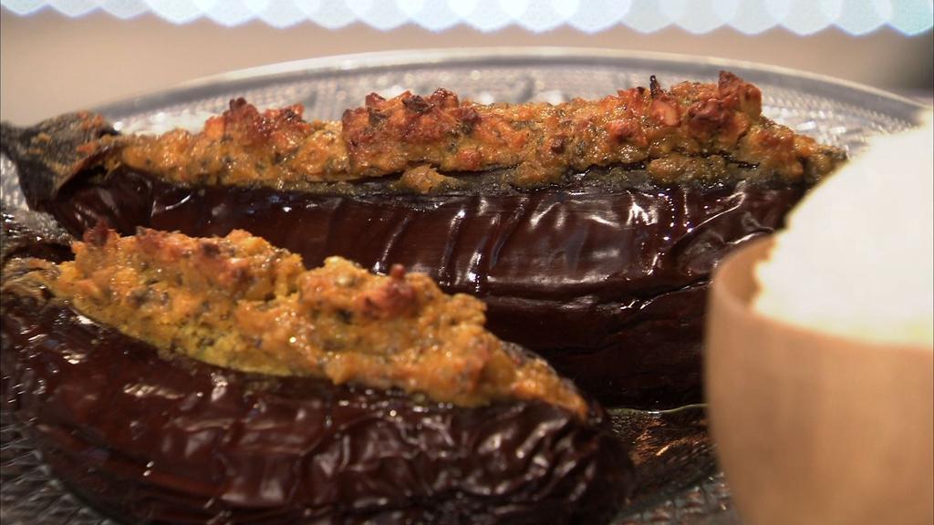 Aubergine farcie l 39 indienne petits plats en equilibre mytf1 - Mytf1 petit plat en equilibre ...
