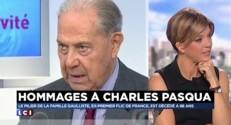 """Claude Guéant : Charles Pasqua et François Mitterrand """"se comprenaient"""""""