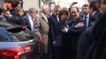 François Hollande sifflé à son arrivée à Lille