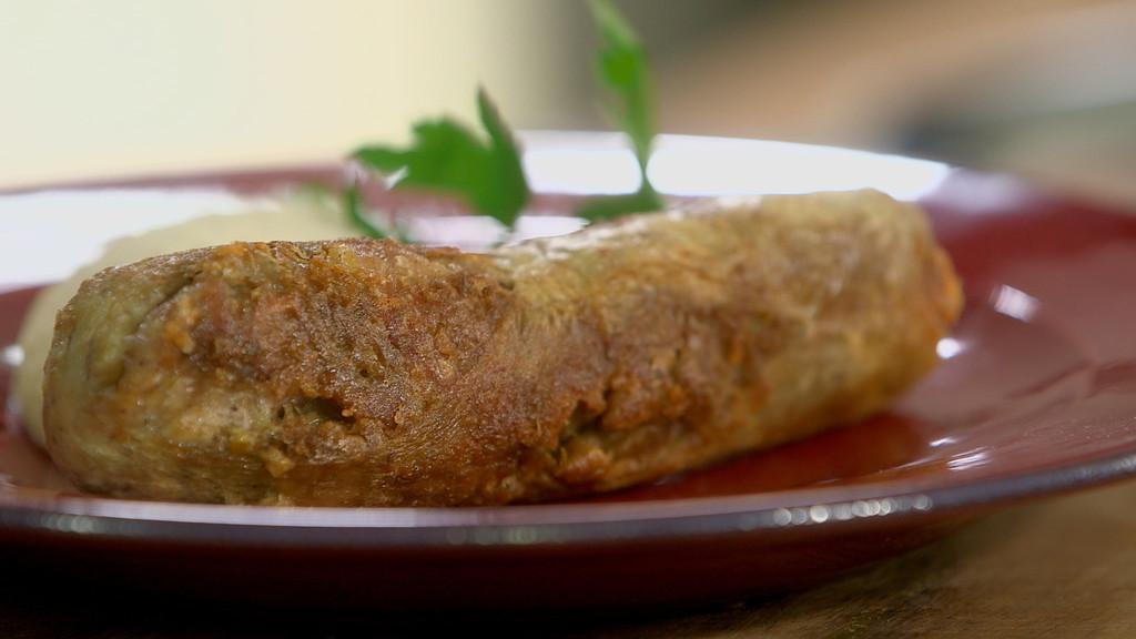 Andouillette de troyes r tie et pur e de haricots de - Recette cuisine tf1 petit plat en equilibre ...