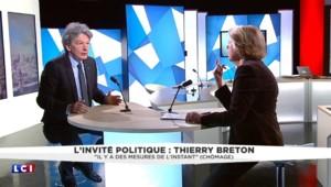 """Apprentissage : """"On est très en retard par rapport à nos voisins allemands"""", affirme Thierry Breton"""