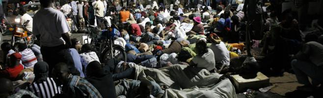 Haïti, Port-au-Prince, le 13/01/2010