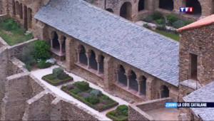 Le 13 heures du 17 mai 2015 : Zoom sur la côte Catalane : le massif du Canigou et son monastère - 1767