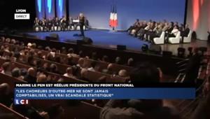 """Le Pen : """"La République démocratique française n'est plus qu'un leurre"""""""