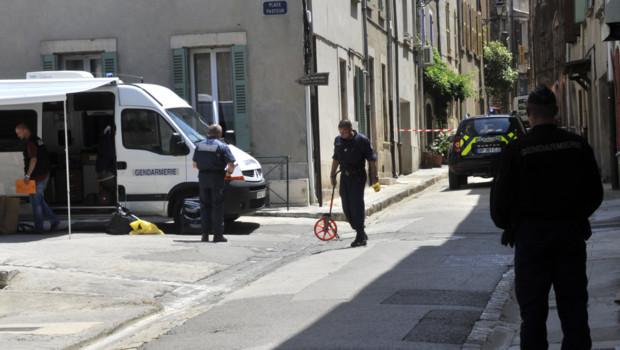 """Le suspect des meurtres des deux gendarmes à Collobrières dans le Var se trouvait """"dans un état alcoolisé"""" lors de son arrestation sur un parking non loin du lieu du crime"""