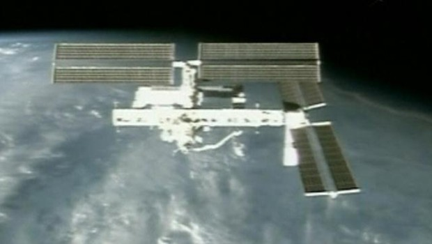TF1/LCI/Nasa : Image de la Station spatiale internation, l'ISS