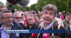 Arnaud Montebourg retrouve le Mont Beuvray... et les frondeurs