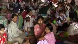 Birmanie sinistrés rescapés cyclone