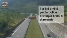 Ce chauffeur de camion fait demi-tour en plein milieu de l'autoroute italienne