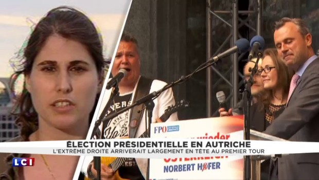 Election présidentielle en Autriche : l'extrême-droite en tête au premier tour