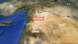 Le 13 heures du 5 juin 2013 : Syrie : l%u2019arm�chasse les rebelles de la ville de Koussa�- 506.16956378173825