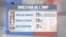 75% des sympathisants UMP veulent voir Sarkozy président du parti