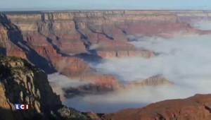"""Etats-Unis : une """"mer de nuages"""" recouvre le Grand Canyon"""