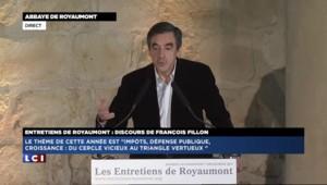 """Fillon : """"Je félicite Hollande et ce n'est pas de l'humour"""""""