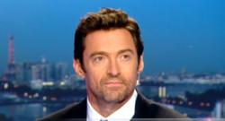 Hugh Jackman sur le plateau de TF1 le 24 septembre 2013