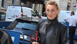 La chanteuse Sheila à Paris, le 13 septembre 2012