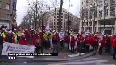 Loi Santé : les buralistes baissent leur rideau dans toute la France