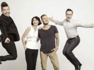 M Pokora, Jean-Marc Généreux, Marie-Claude Pietragalla et Chris Marques de Danse avec les Stars