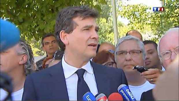 Montebourg aux Fralib : &quot;je vous l&#039;avais dit que je reviendrai&quot;