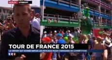 Tour de France : lancement de la compétition sous un soleil de plomb