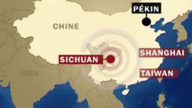 Tremblement de terre Chine