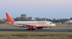 Un avion de la compagnie Air India