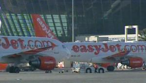 Avions de la compagnie aérienne à bas coût easyjet
