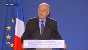 """Ayrault dit """"la reconnaissance de la France"""" aux soldats revenus d'Afghanistan"""