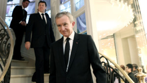 Bernard Arnault, patron du groupe de luxe LVMH