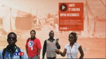 """Cinq journalistes haïtiens ont réalisé un documentaire """"Goudou Goudou"""" sur la reconstruction de leur pays."""