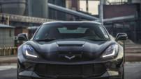 La Chevrolet Corvette Stingray vue par le préparateur Prior Design, toujours équipée d'un V8 de 460 chevaux.