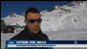 Le 13 heures du 14 avril 2013 : Deux skieurs de randonn�tu�dans une avalanche en Savoie - 252.46750000000003