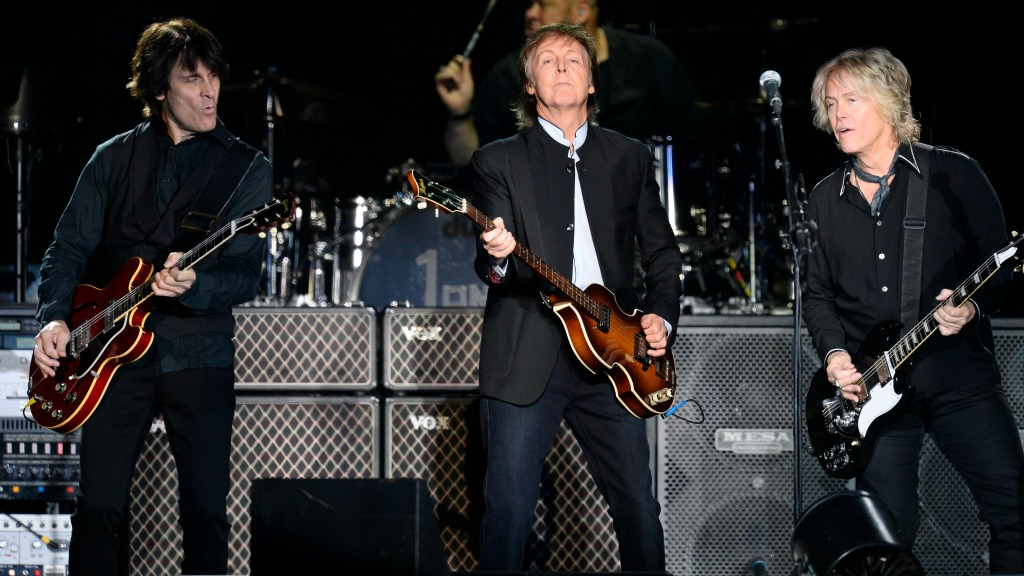 Paul McCartney en concert à l'AccorHotel Arena (Bercy)