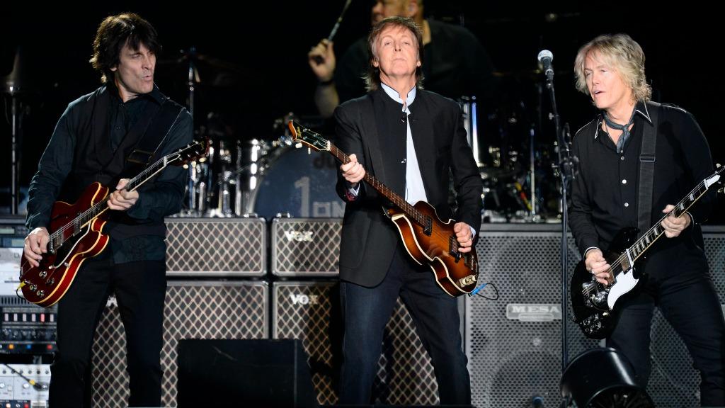Paul McCartney en concert à l'AccorHotel Arena (Bercy)