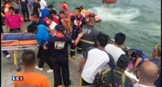 Philippines : au moins 36 morts dans le naufrage d'un ferry