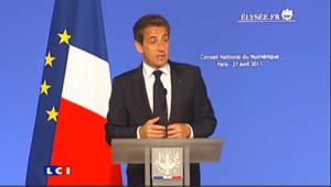 """Sarkozy sur Hadopi : """"Je reconnais ma part de l'erreur"""""""