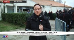 Accident de car à Rochefort : une chapelle ardente dressée