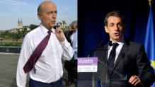 Duel à distance entre Sarkozy et Juppé.