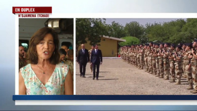 Le 13 heures du 22 novembre 2014 : Manuel Valls aupr�des soldats fran�s au Tchad - 329.869