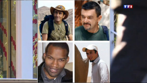 Le 20 heures du 31 octobre 2013 : Les quatre otages ont retrouv�eurs proches - 148.549