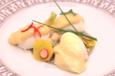 Marie-Hélène - Œuf aux deux mayonnaises et macédoine de légumes