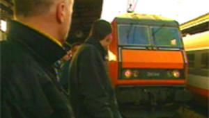 passagers train gare