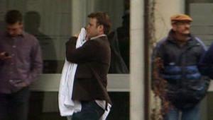 Termonde, un père évacuant son enfant de la crèche où s'est produit une tuerie