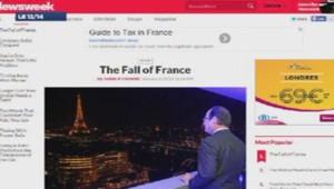 """The fall of France"", article du américain magazine Newsweek"