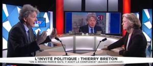 """Thierry Breton : la France a """"très mal géré la crise"""" économique"""
