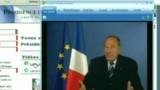 Chirac fait ses voeux aux Européens sur le Net