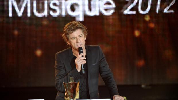 Hubert-Félix Thiéfaine aux victoires de la Musique