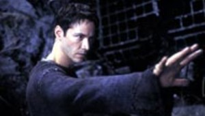 Keanu Reeves dans Matrix Reloaded
